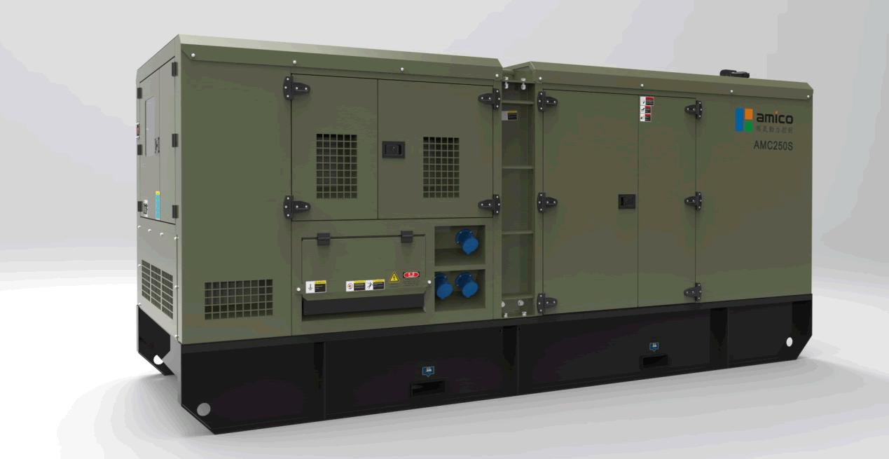 Populaire 160kW de gaz de houille Genset, gaz industriel électrogène, la  AN06