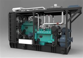 810kW AMICO Natural Gas Genset